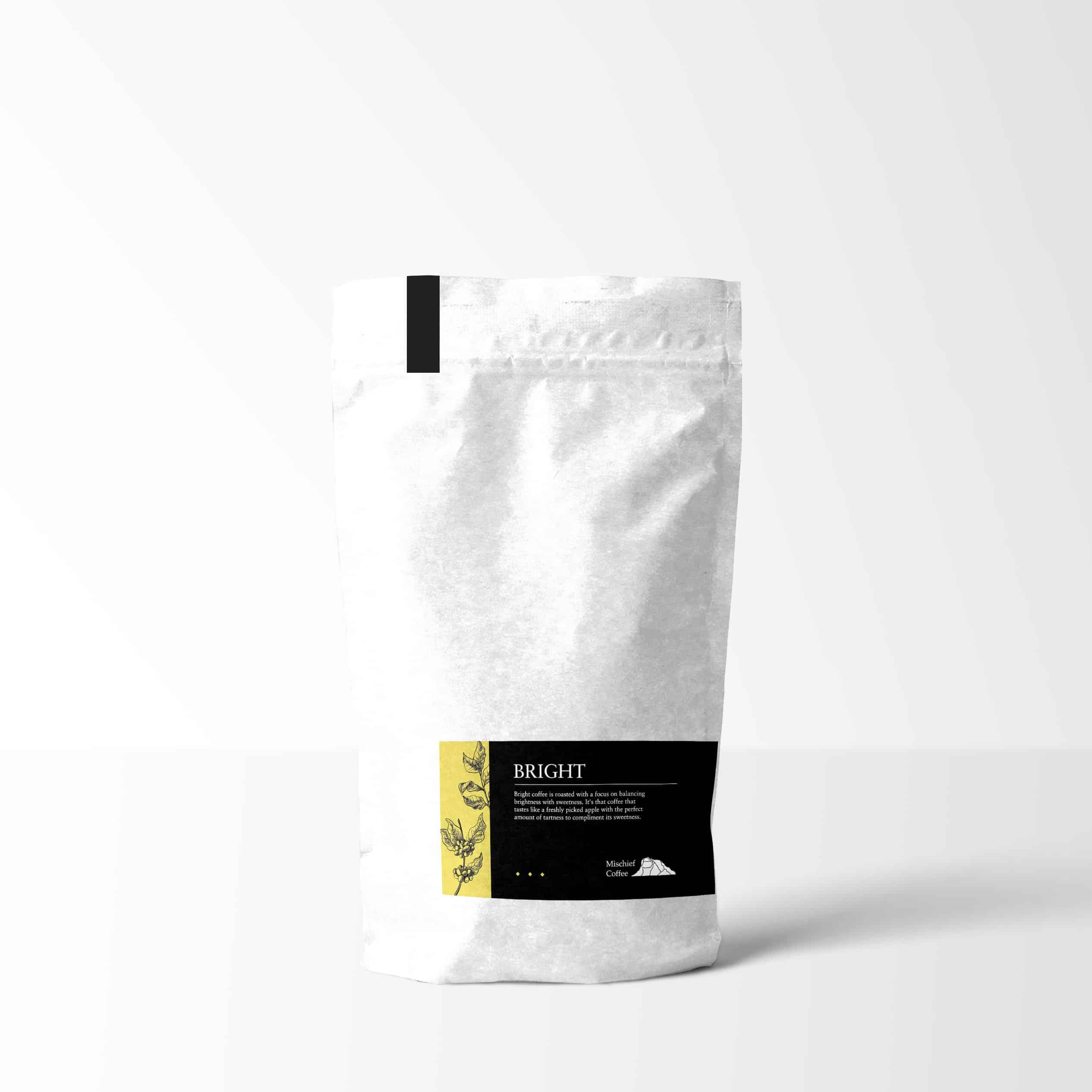 Coffee bag package design
