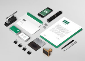 Accounting brand design and logo