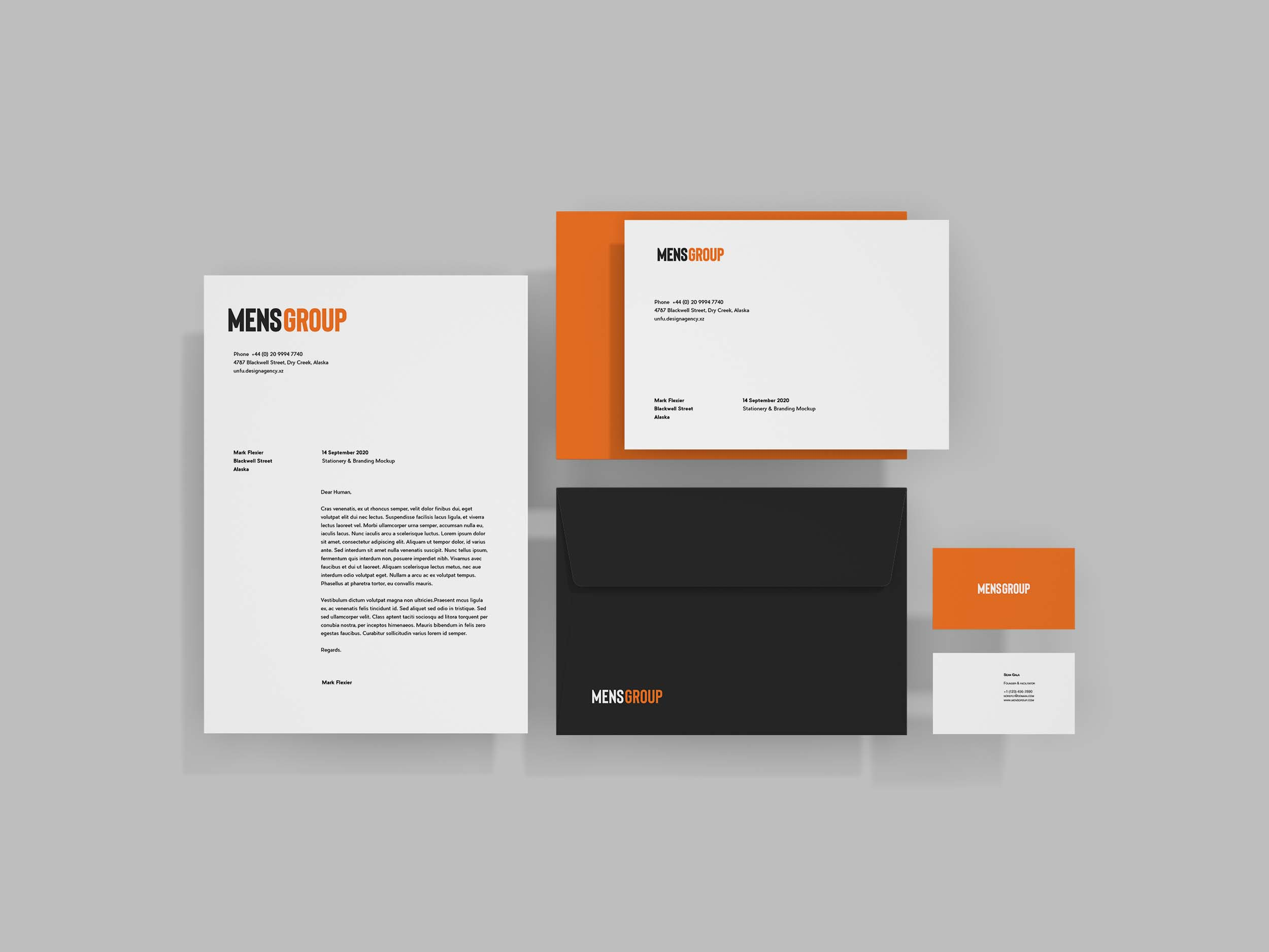 Brand identity and design