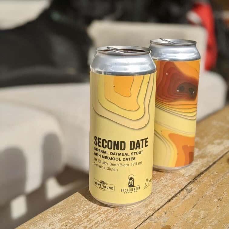 beer label design squamish